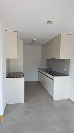 Neue Küchen nach der Sanierung, Fildernpark, Ebikon