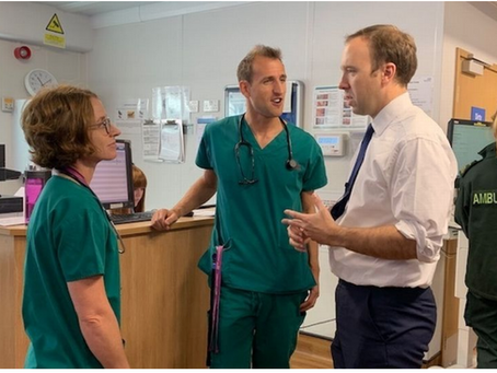 How To Tackle Racism Within The NHS According To Matt Hancock