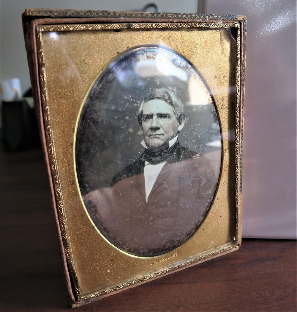 Daguerreotype: Lewist Burwell Williams, Sr. James Madison Museum.