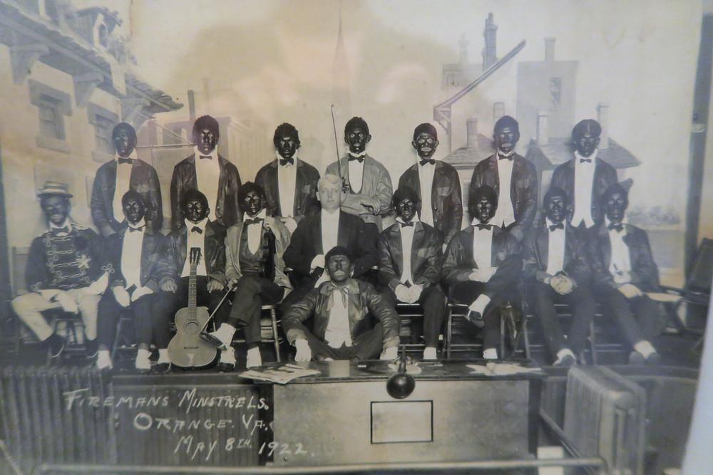 1922 Orange Volunteer Fire Department Performance.