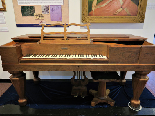 This Piano Participated in History...