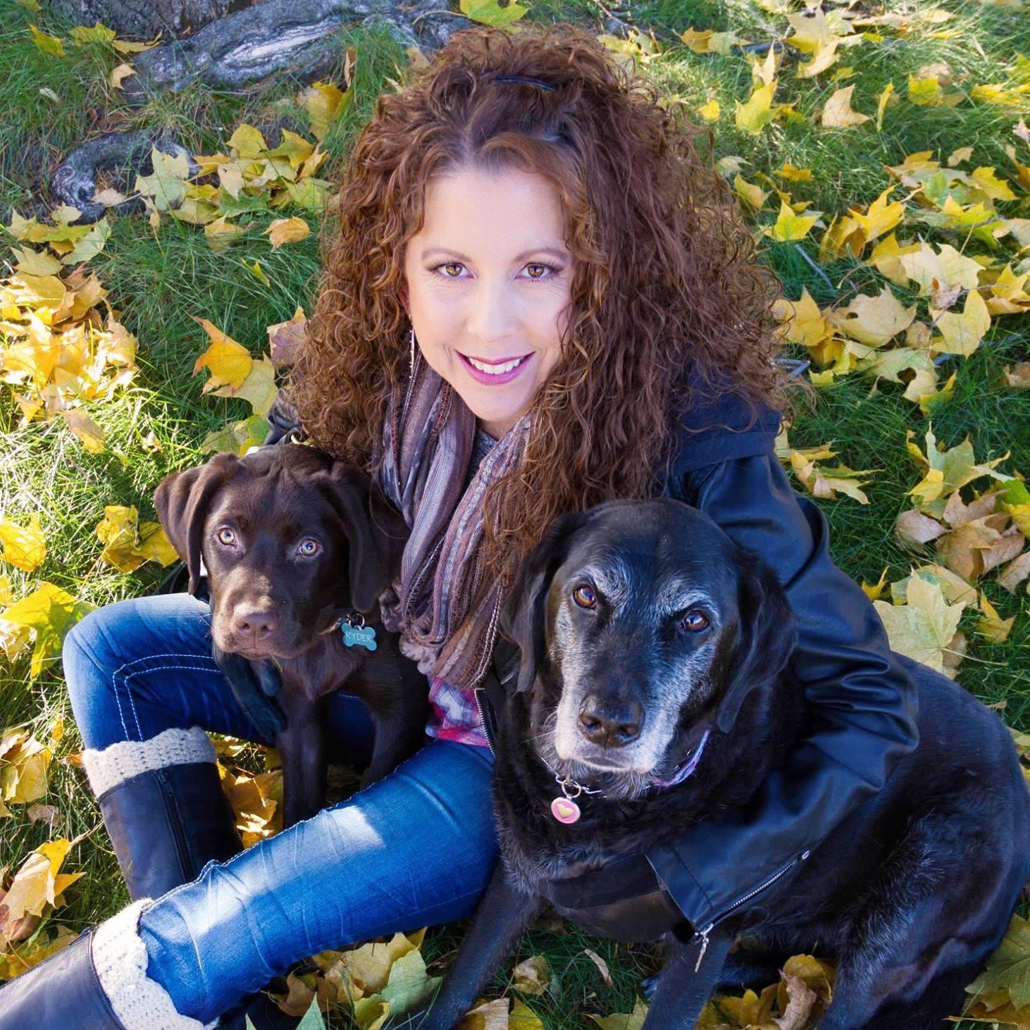 """Lynette...the """"dog mom"""""""