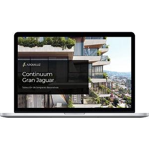 MacBook con imagen del proceso de trabajo de Arquiluz Europa