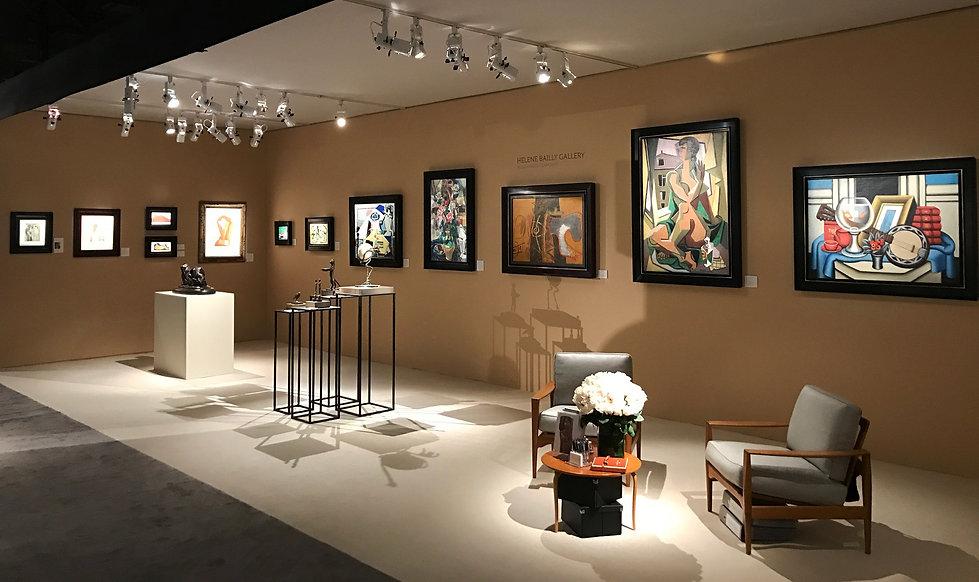 NEW YORK ART & DESIGNFair 2016 HELENE BAILLY GALLERY