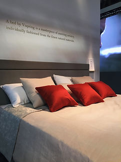 Salone del mobileMilan 2017 VISPRING LUXURY BED