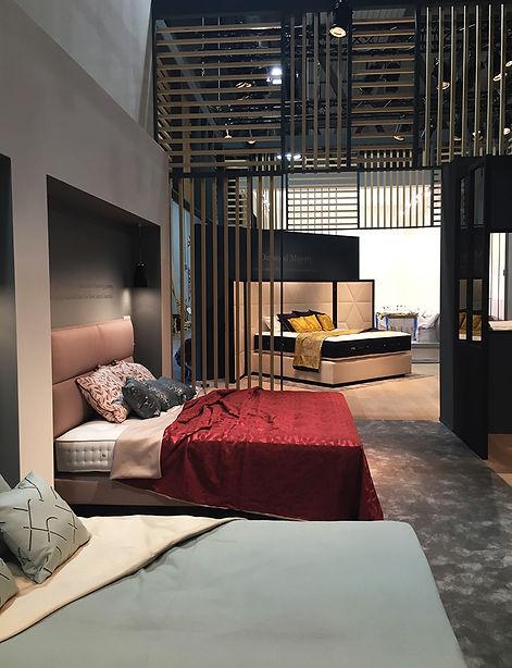 Salone del mobile Milan2018 VISPRING LUXURY BED