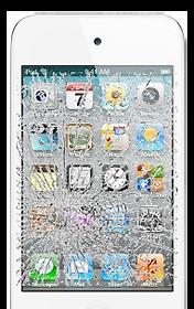 Broken iPhone 4 Screen
