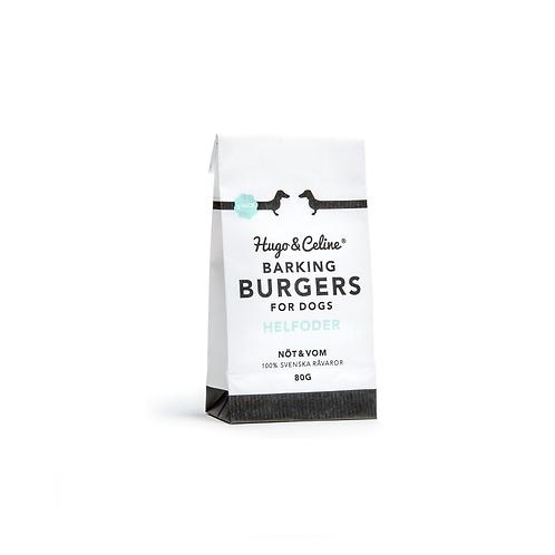 Hundfoder Barking Burger 2 Pack