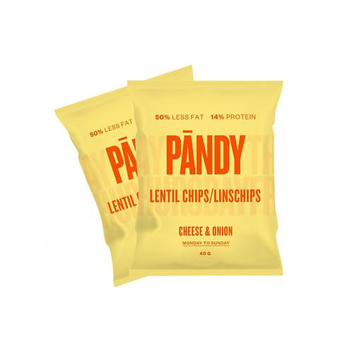 Pändy Protein Chips Ost&Lök