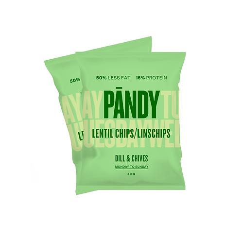 Pändy Protein Chips Dill&Gräslök