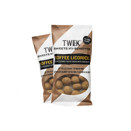 TWEEK Godis Toffee Licorice