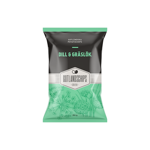 Gotlandschips Dill & Graslök
