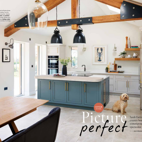 Charlie the Cockapoo, steals centre stage on the cover of KBB, Aug 2021