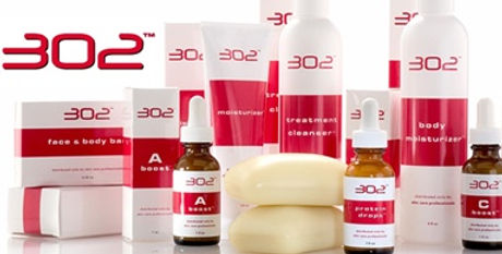302 professional skincare products