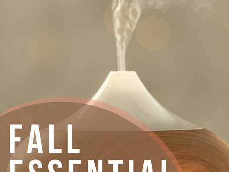 DIY Fall Essential Oil Diffuser Blends
