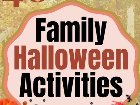 Cheap & Fun Family Halloween Activities
