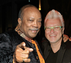 Gen Nady and Quincy Jones