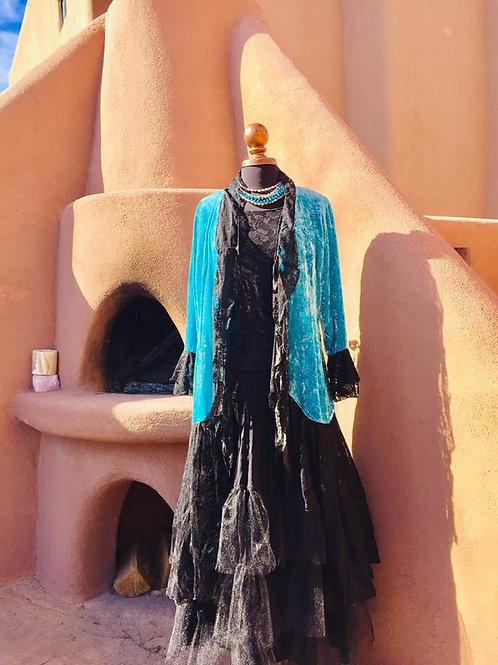 Velvet Duster and Rodeo Cinderella Skirt