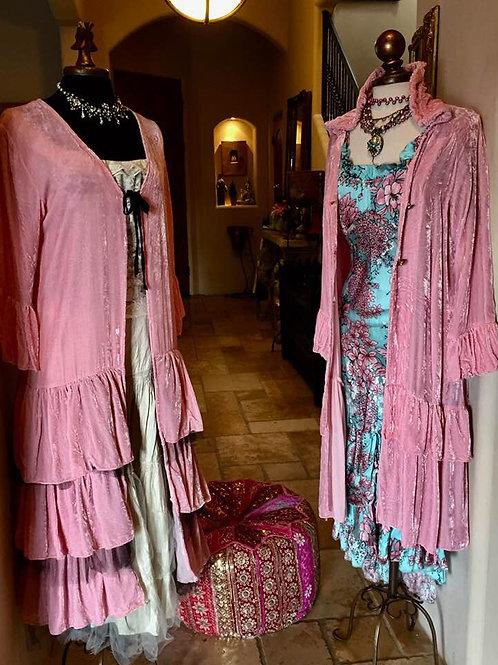 Marrika Nakk pink Velvet Dusters