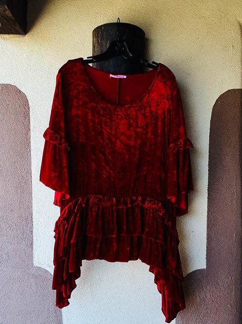Marrika Nakk Mariposa Tunics in Silk Velvet