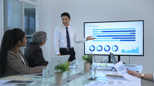 Business concept. Young men presenting results at the meeting. 4k Resolution..jpg