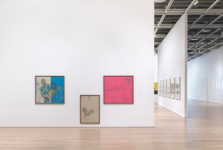 Installation view of 2019 Whitney Biennial, Whitney Museum of American Art, New York. Photo©Joerg Lohse