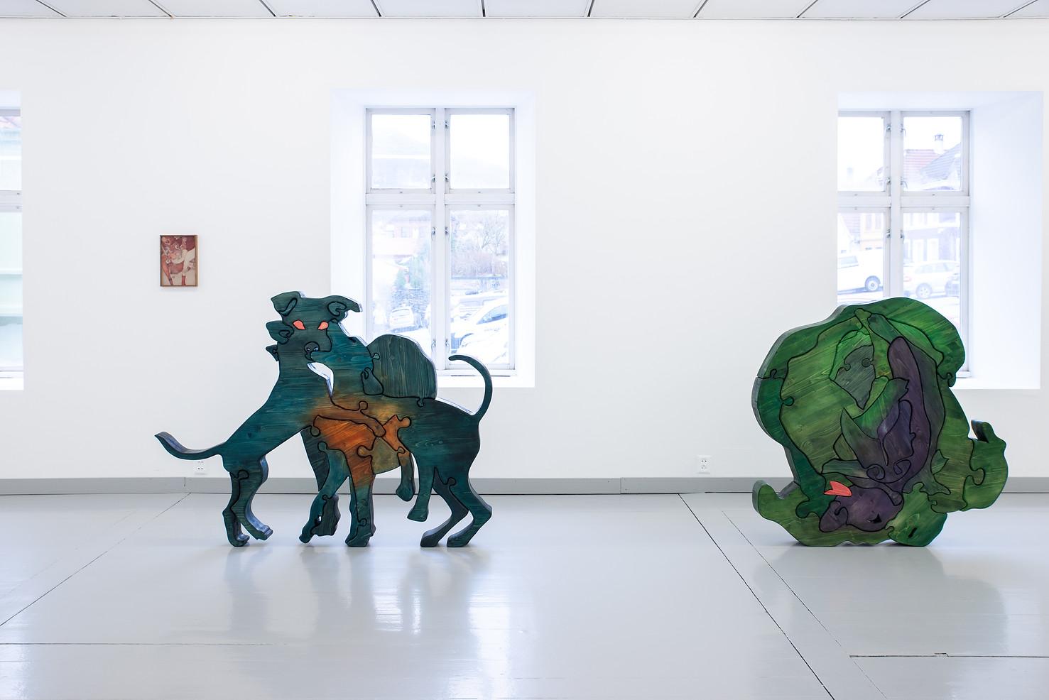 Camilla Steinum, 2019, Strekker til, Din lune, hordaland kunstsenter.