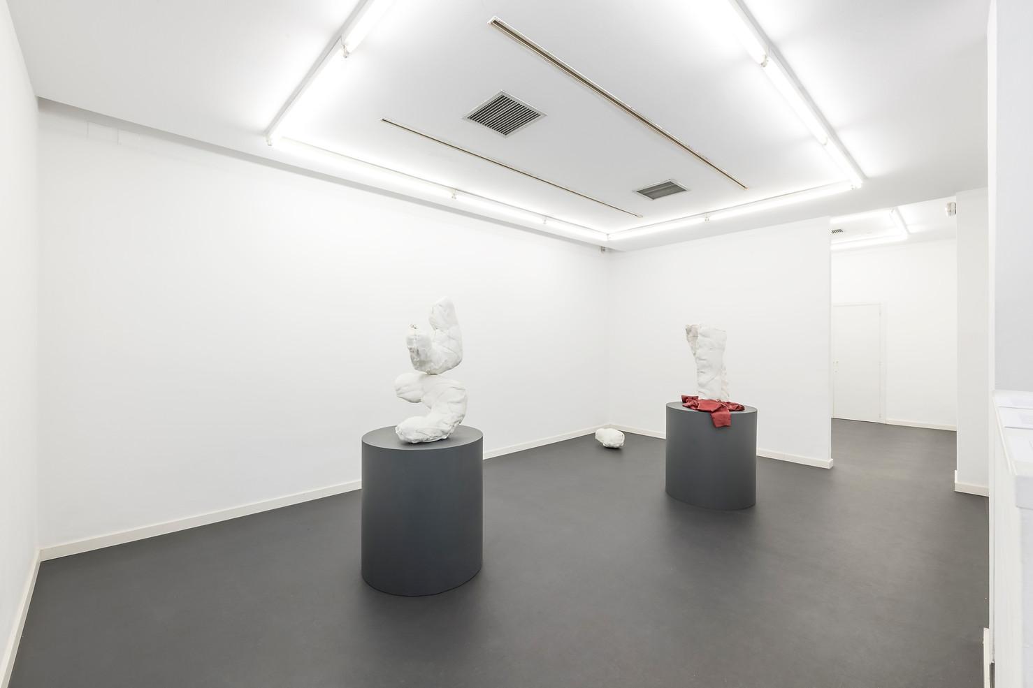 General view of  Túnel · Solo show at García Galería · Madrid · 2019 (Photo credit: Roberto Ruiz)