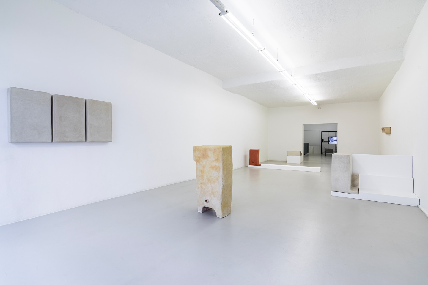 Cache (Insurance Policy), installation view, ar/ge Kunst, 2019. Photo: Luca Guadagnini