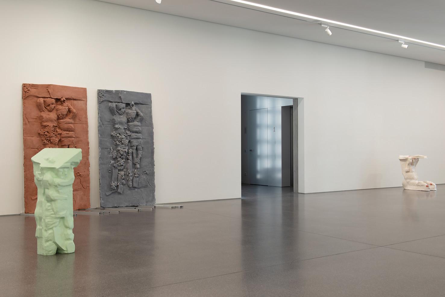 Die Telamonen, 2020  Installation view at Bündner Kunstmuseum, Chur, Switzerland Photo©Thomas Strub
