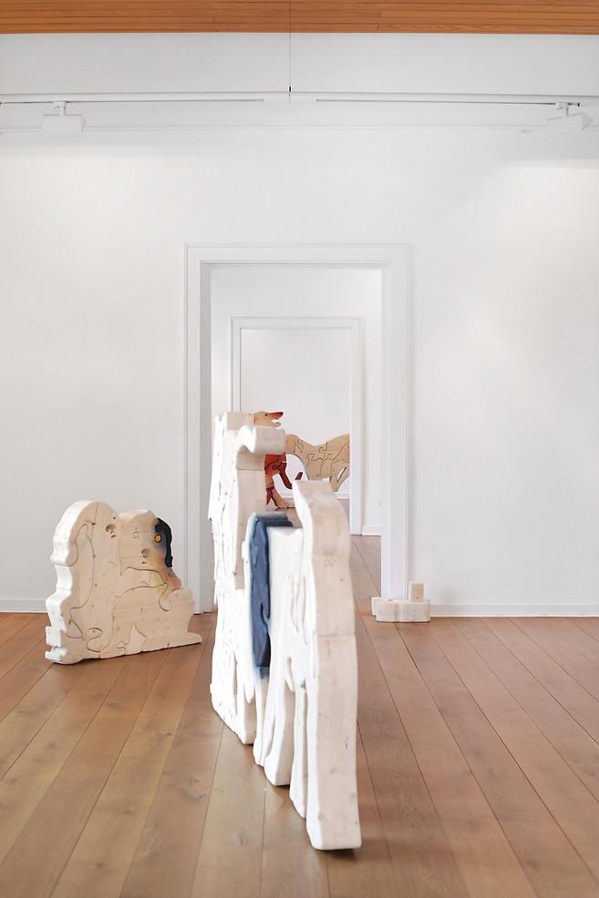 Camilla Steinum, exhibition view Kunstverein Göttingen, 2020, Photo: Silke Briel, © Kunstverein Göttingen