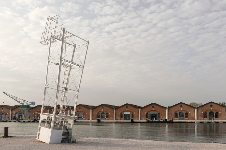 Monowe (The Terminal Outpost), 2019 Installation view at Arsenale  58th International Art Exhibition, May You Live in Interesting Times, Venice Biennale (2019) Production supported by La Biennale di Venezia, presented at the 58th International Art Exhibition Photo©Nuvola Ravera