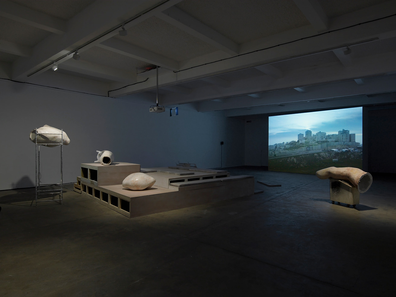 A Magical Substance Flows Into Me, Installation view, Chisenhale Gallery, 2015. Photo: Andy Keate