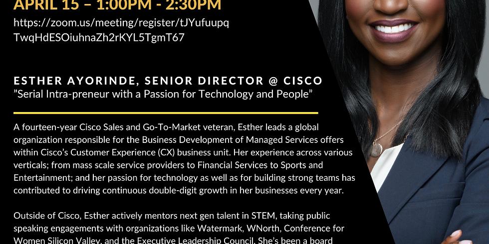 ESO Workshop: Sales Strategy 101 with Esther Ayorinde