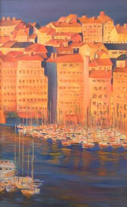 Vieux port au couchant