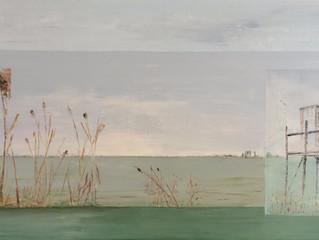 Carrelet au bord de la Garonne