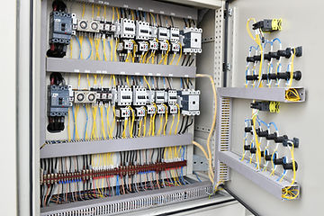 Electric cable wiring supply and switch