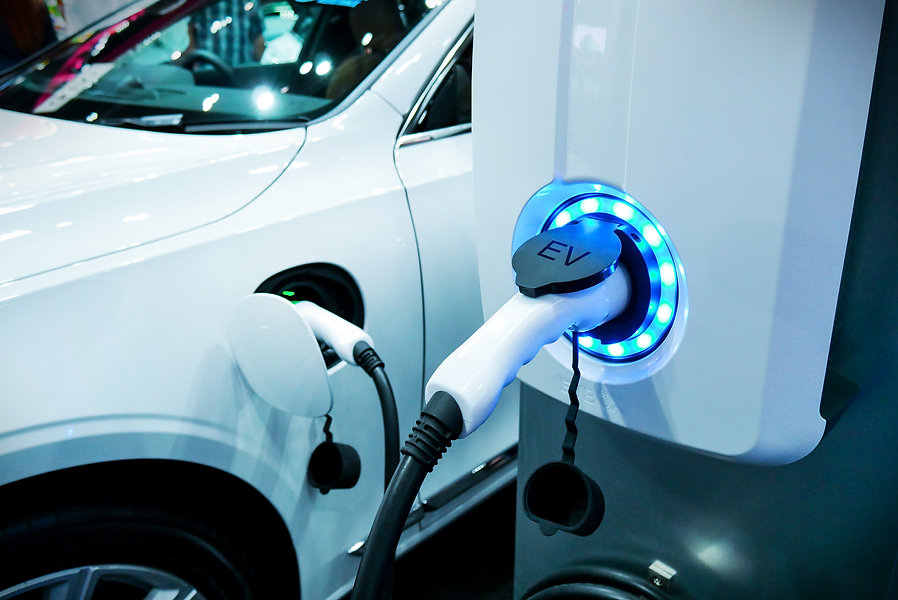 Power supply connect to electric vehicle