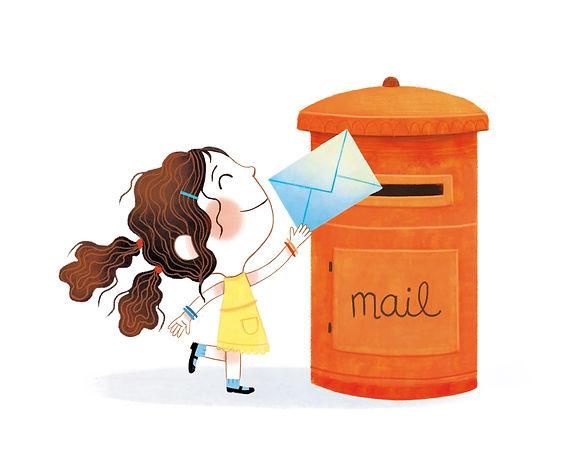 Mailing Girl Marta Alvarez Miguens Illustrator