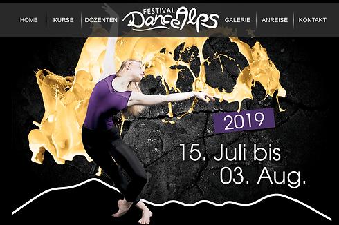 Dance Alps Festival 2019