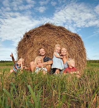 A Celina, texas family enjoying their new home.