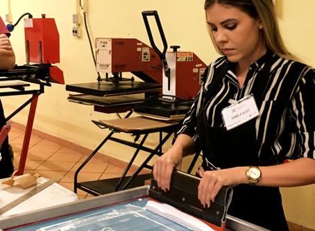 Curso Presencial de Serigrafia PRO + EXPERT -  Nível: Médio a Avançado