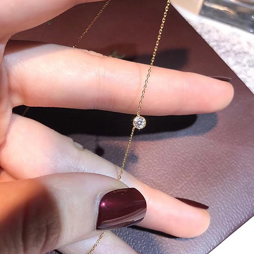 0.1CT~0.2CT~0.3CT Necklace