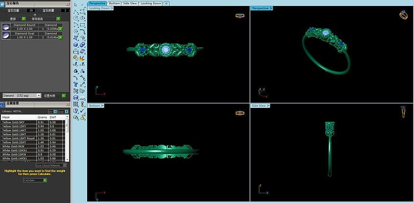 Kawahiro Jewelry Matrix Design