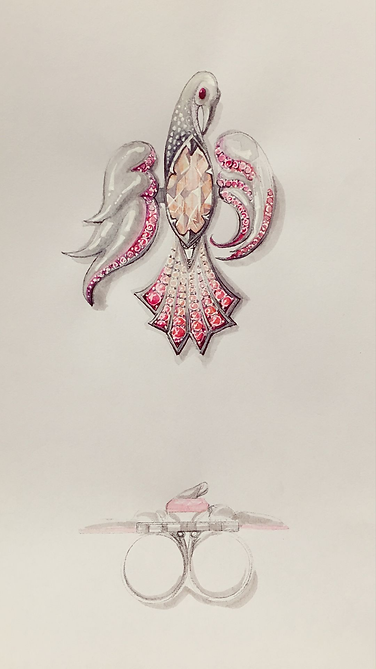Kawahiro Jewelry Sketch