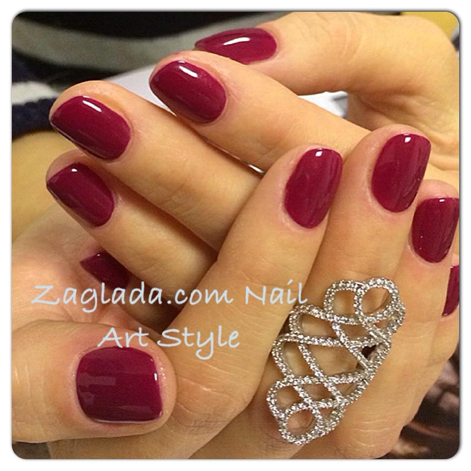Marsala Red Gel Polish