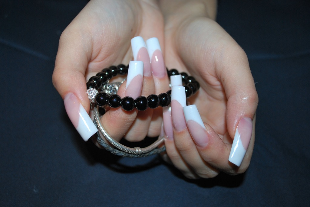 Square Acrylic Nail Extension