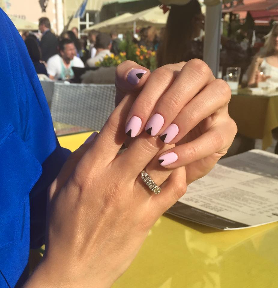 Baby Pink Shellac Nail Style