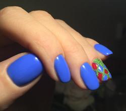 Shellac Manicure And Nail Art