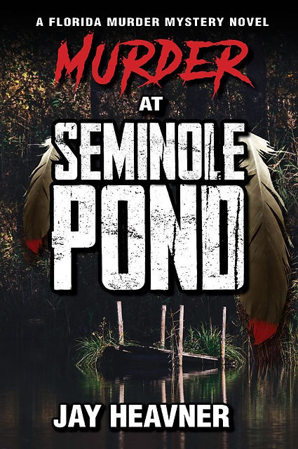 Murder at Seminole Pond ebook front cove
